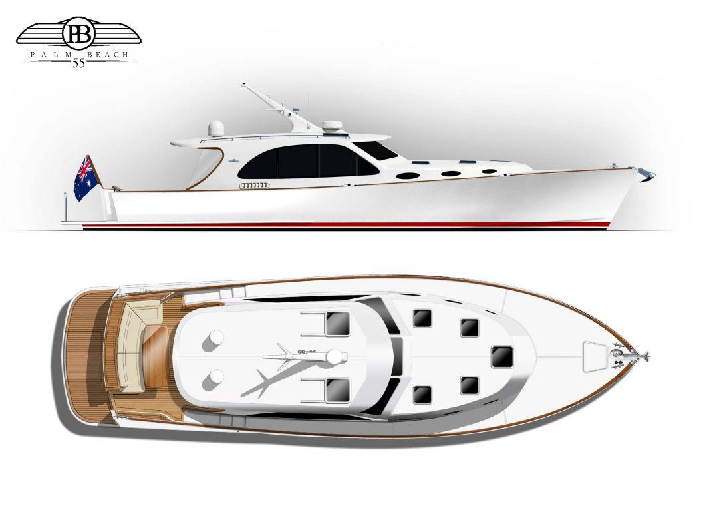 Palm Beach Motor Yachts 55 Sedan Image